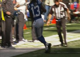 T.Y. Hilton shows sideline awareness on toe-tapping grab