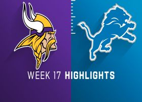 Vikings vs. Lions highlights | Week 17