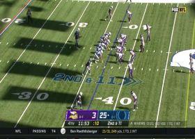 T.Y. Hilton turns around DB on elusive 28-yard catch and run