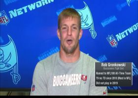 Gronk: 'We got something special brewing up' in Tampa Bay