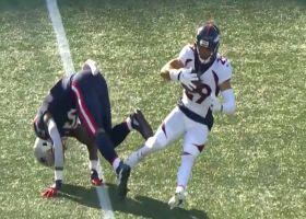 Broncos CB Callahan makes one-handed INT vs. Cam Newton