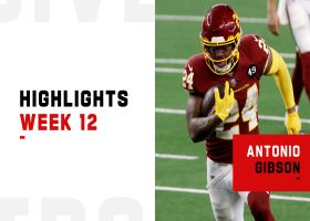 Antonio Gibson's best plays from 3-TD game | Week 12