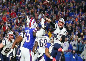 Lorenzo Alexander forces Brady to fumble