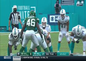 Ryan Fitzpatrick tries to trick Jets to jump offside