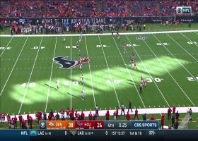 Texans' onside kick succeeds after Broncos' mishap