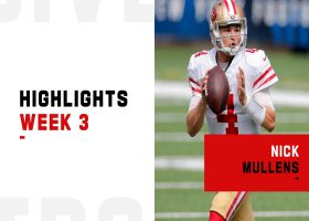 Nick Mullens' best throws from 343-yard game | Week 3
