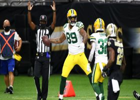 Marcedes Lewis makes in-air adjustment to snag 18-yard TD