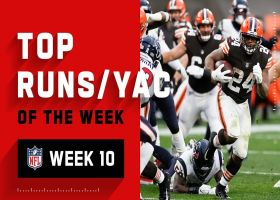 Top runs and YAC of the week | Week 10
