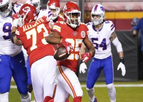 Chiefs' OL paves the way for Clyde Edwards-Helaire's untouched TD