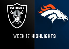 Raiders vs. Broncos highlights | Week 17