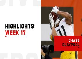 Every catch by Chase Claypool from 101-yard day | Week 17