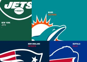 How the AFC East teams got their colors