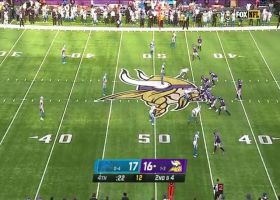 Cousins lofts 19-yard pass over middle to Thielen