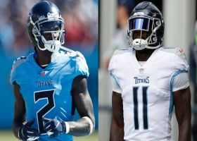 Pelissero: Titans 'could be without' Julio Jones, A.J. Brown in Week 4