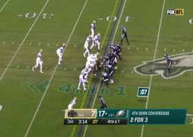 Saints stonewall Philly's fourth-down QB sneak attempt