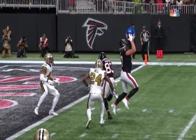 Jaeden Graham pulls in Ryan's laser pass for first NFL TD