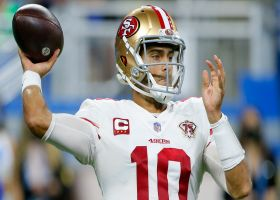 Garoppolo on playing in Shanahan's offense: 'It's slowing down for me out there'
