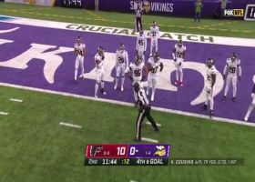 Falcons swarm Mike Boone in the backfield to complete goal-line stand