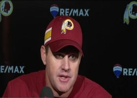 Jay Gruden comments on Colt McCoy's likely season-ending injury