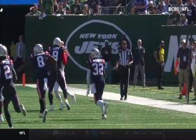 McCourty looks like intended receiver on Pats' FOURTH INT of Wilson