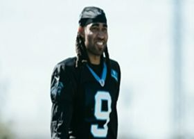 First look: Stephon Gilmore at Panthers practice