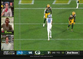 Peyton, Eli Manning and Gronk break down Hockenson's TD grab