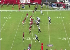 Barkley drops absolute dime to Kinsey for 20-yard TD