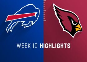 Bills vs. Cardinals highlights | Week 10