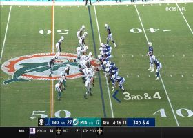 Doyle rules! TE outmuscles DB's defensive PI for 24-yard grab
