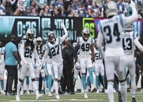 Panthers complete goal-line stand on fourth-down stuff vs. Booker