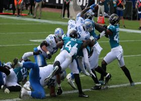 D'Andre Swift's airborne TD is a work of art
