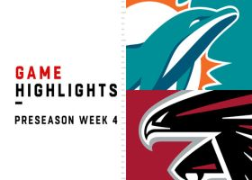 Dolphins vs. Falcons highlights | Preseason Week 4