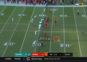 Jarvis Landry makes incredible sideline grab for 22 yards