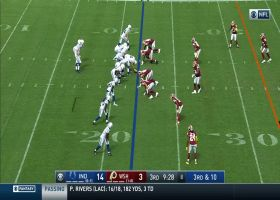 D.J. Swearinger jumps route for second INT of game | True View