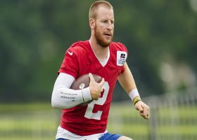 Garafolo: Colts have 'Fingers crossed' on Carson Wentz's foot injury