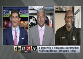 Brooks: Brees has gone from a fastball to knuckleball pitcher at QB