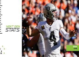Next Gen Stats: Derek Carr's 5 most improbable completions | Week 6