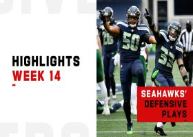 Seahawks' best defensive plays from strong win | Week 14