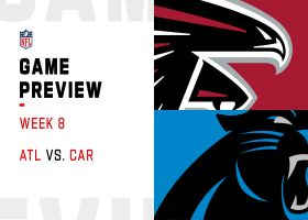 Falcons vs. Panthers preview   Week 8