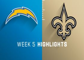 Chargers vs. Saints highlights | Week 5