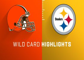 Browns vs. Steelers highlights | Super Wild Card Weekend