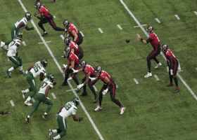 Jets defense wraps up Davis for third down TFL
