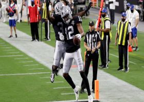 Big-play Zay! Jones scoops Carr's throw at the pylon for TD