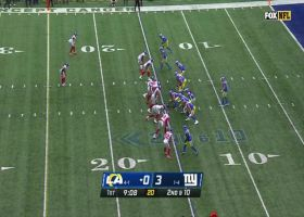 Stafford pinpoints Kupp downfield for 30-yard pickup