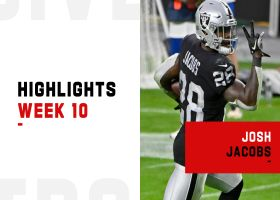 Josh Jacobs' best plays from 136-yard game | Week 10
