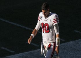 Pelissero: Jimmy G headed to IR with 'new' high-ankle sprain on same foot