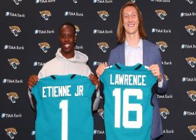 D.J. Chark reacts to Jaguars drafting Lawrence, Etienne