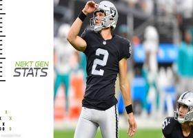 Numbers behind Raiders' game-winning drive in Week 3 | Next Gen Stats