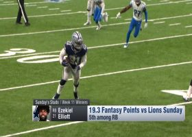 Who were the fantasy winners of Week 11? | 'NFL Fantasy Live'
