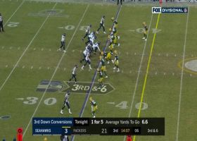 Russell Wilson takes off on quick 22-yard third-down scramble